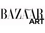 Bazzar Art black text white background