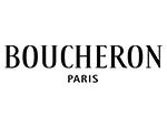 Boucheron Paris black text white background
